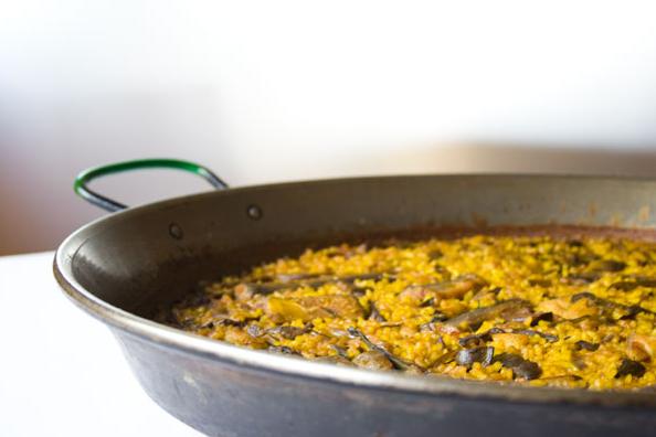 Recette paella valenciana - Paella recette traditionnelle ...